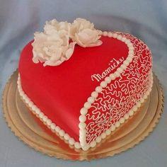 Cake Design added a new photo. Sweet Birthday Cake, Birthday Cake Writing, Happy Birthday Cake Images, Beautiful Birthday Cakes, Romantic Birthday, Birthday Cake For Wife, Happy Birthday Wishes Cake, Cake Decorating Designs, Cake Decorating Techniques