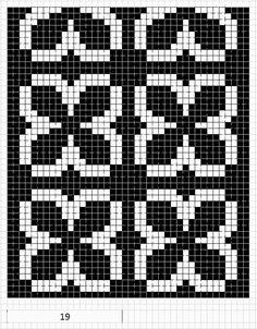 Mustrilaegas: A Kudumine / Knitting Tapestry Crochet Patterns, Fair Isle Knitting Patterns, Bead Loom Patterns, Crochet Stitches Patterns, Knitting Charts, Crochet Chart, Knitting Stitches, Cross Stitch Designs, Cross Stitch Patterns