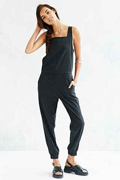 Shades Of Grey Overall - Urban Outfitters