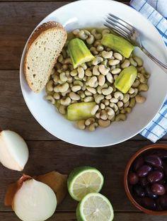 Λουβιά φρέσκα με κολοκύθια | Συνταγές, Παραδοσιακά | Athena's Recipes Black Eyed Peas, Food, Meals