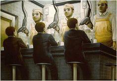 La pintura surrealista de Tetsuya Ishida | LaReserva