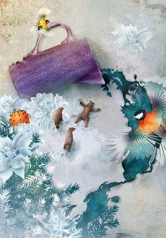 Красочные фэшн-иллюстрации Linn Olofsdotter