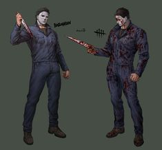 Horror Movies Funny, Horror Movie Characters, Scary Movies, Michael Myers, Michael X, Jake Park, Big Scary, Character Inspired Outfits, Nightmare On Elm Street