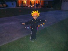 Solar system Halloween costume