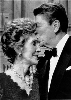 Ronald and Nancy Reagan. I really love this picture.