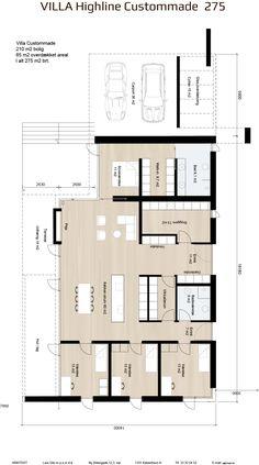 Atrium, Single Storey House Plans, Architectural Floor Plans, Villa, House Blueprints, 4 Bedroom House, Garage House, House Floor Plans, My Dream Home