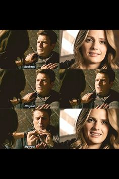 Awe, Castle found the right Kate. From Facebook.