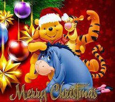 Winnie-the-Pooh & Eeyore - Merry Christmas