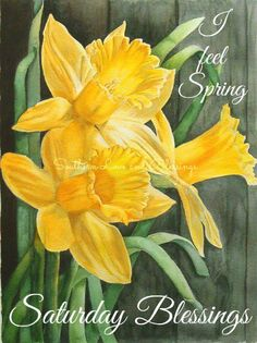 A Passion for Watercolour!: A bunch of daffodils Watercolor Projects, Watercolour Tutorials, Watercolour Painting, Watercolor Flowers, Painting & Drawing, Watercolors, Watercolor Pictures, Daffodils, Daffodil Flowers