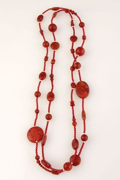 Red Stone Necklace | TreeofLife.com.au