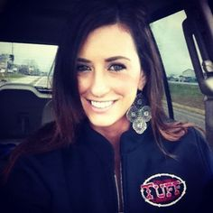Hannah Helvey from the show #TexasWomen on CMT sporting a nice Cowgirl Tuff jacket!