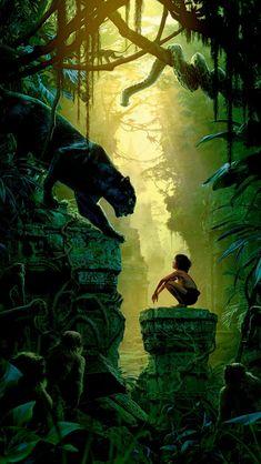 Art Film Nature Junglebook Animal #iPhone #5s #wallpaper