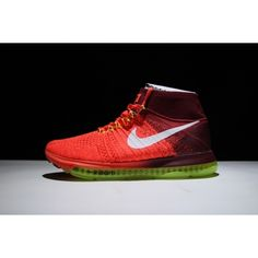 Buy Nike Air Zoom All Out Flyknit - Buy Nike Air Zoom All Out Flyknit Mens Running Shoe Red Green