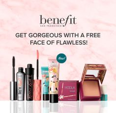 This is for real! I used to work for Benefit Cosmetics myself. Sign up and pass around the love