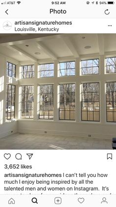 Give me all of the windows. Sunroom www.lightfortysix… www.lightfortysix… Give me all of the windows. Sunroom www.lightfortysix… www. Future House, My House, Four Seasons Room, 4 Season Room, Sunroom Addition, Room Additions, Windows And Doors, Wall Of Windows, Windows Decor
