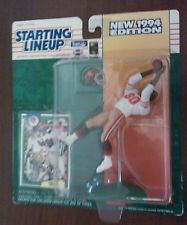 Vintage NFL 1994 JERRY RICE Starting Lineup NEW Rare San Francisco 49ers