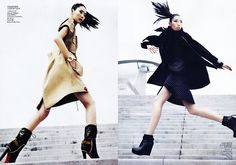 Liu Wen in Vogue China, August 2011