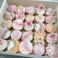 Pink, White, Cupcakes