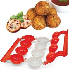 Homemade Stuffed Meatballs Maker Turkey  Meatball Shaper Machine