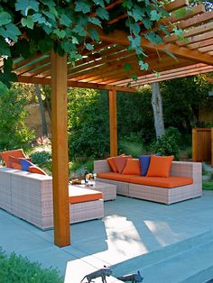 Gorgeous outdoor living area Modern Landscape Design, Pictures, Remodel, Decor and Ideas - page 4