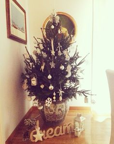 Christmas tree by day