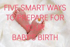 Five Smart Ways to Prepare for Your Baby's Birth (Giveaway Ends 9/3/15) (5 Winners) - Giveaways 4 MomGiveaways 4 Mom  #ProductReviewParty