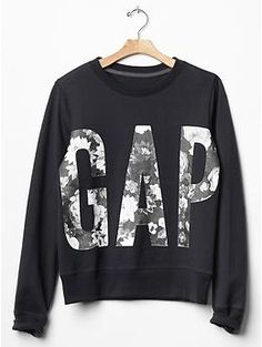 Floral logo sweatshirt | Gap
