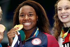 At the Rio Olympics, Simone Manuel became the first African-American female swimmer to take gold in an individual event.