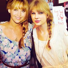 jennifer lawerence and taylor swift | Jennifer Lawrence and Taylor Swift | favorite people.