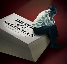 Death of a Salesman book cover design assignment? New York Times, Ny Times, Dramatic Monologues, Book Cover Design, Book Nerd, Theater, Diana, Nostalgia, Tech