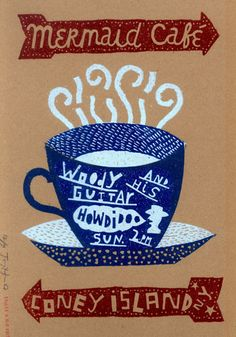 """""""Mermaid Cafe No.2"""" Jonny Hannah"""