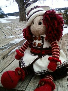 Lotty Doll. i love the pattern! the colors go great together, the clothes are awsome and i just lovvve this doll!
