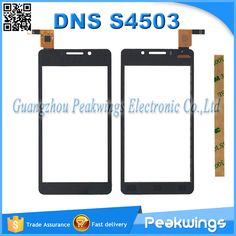 "4.5"" inch Touch For DNS S4503 S4503Q innos i6 i6c touch screen digitizer panel Replacement Ship with Track"