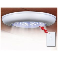 Closet Lighting Wireless. I Found This Amazing Cordless Ceiling/wall Light  W/ Remote