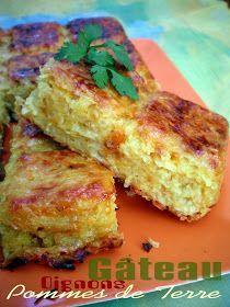 TESTER !!! Pourquoi se priver quand c'est bon et léger?: Gâteau de pommes de terre aux oignons allégé (4.5 pts ww)