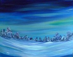 Northern Lights 1 by angelasowdon on Etsy, Natural Beauty, Northern Lights, My Arts, Waves, Unique Jewelry, Handmade Gifts, Art Work, Theatre, Nature