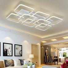 Пост-современный алюминиевый акриловые светодиодный потолочный светильник гостиная местный номер свет украшение дома освещение 110 В 220 В бесплатная доставка