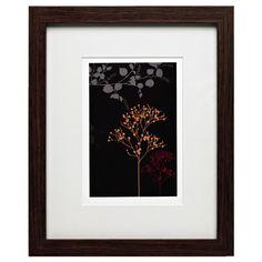 Wilko Photo Frame Dark Wood Effect 10inx8in