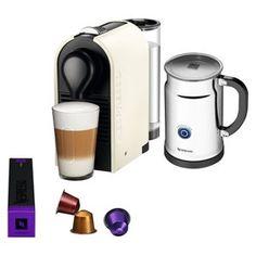 Nespresso U Espresso Machine Bundle