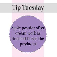 #TipTuesday #CLMA #cassielomasma #powder #set #makeup #mua