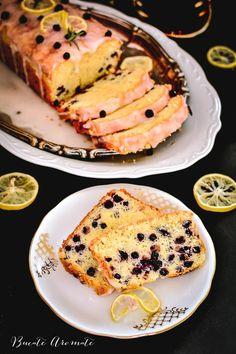 Chec glazurat cu afine şi lămâie Low Carb Recipes, Vegan Recipes, Caramel, Vegetable Drinks, Sourdough Bread, Healthy Eating Tips, Mushroom Recipes, Cacao, Quick Bread
