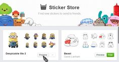 Minions are coming!  Facebook stickers are meant to increase user engagement by trying to lure younger generations who are currently migrating to WhatsApp, Line and Kik.