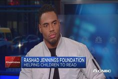 NFL star making a difference in education