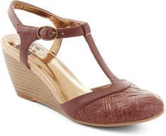 f7a69d917b7 BC Footwear Weaving In and Out Wedge in Cognac on shopstyle.com.au Modcloth
