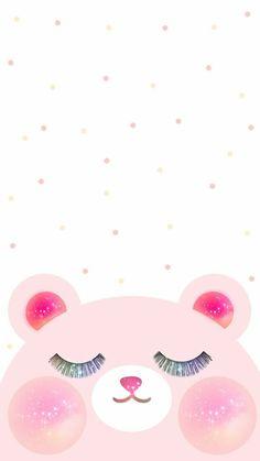 Little sweet pink bear