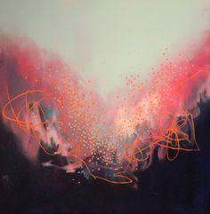 "Saatchi Online Artist: Georgina Vinsun; Mixed Media, 2013, Painting ""Luke"""