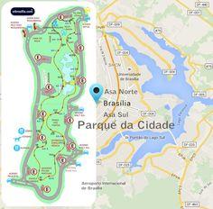 Parque da Cidade - Asa Sul - Brasília / DF - Brasil >