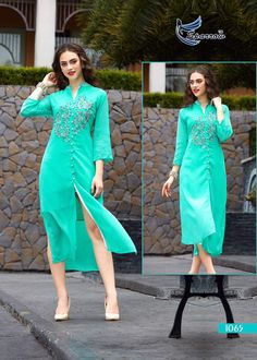 #TODAY'S LAUNCHING NEW STYLISH KURTI catalogue-sparrow 10 design available fabric-Dyed for Georgette with heavy santton inner and heavy embroidery work size: L-40,XL-42,XXL-44 only full catalogue availbale #magic#shades Note : Shipping charge extra Call / Whatsapp to order : +919925092926 visit us at : www.enjoylery.com
