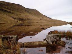 Llyn y Fan Fawr, Powys, nel parco nazionale di Brecon Beacons