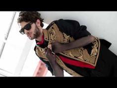 Xavier Dolan, L'uomo Vogue Backstage photoshoot